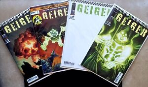GEIGER #1 Image Comics Covers A,B,C,D (4)Lot NM Geoff Johns  Gary Frank