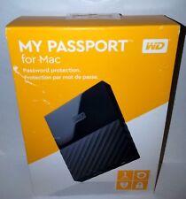 1TB Western Digital WD My Passport MAC Portable (USB 3.0)External Hard Drive HDD