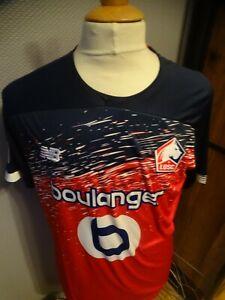 MAILLOT FOOTBALL NEW BALANCE LILLE 2019-2020 T.L RIJSEL RYSEL BOULANGER