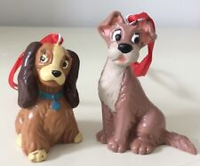 DISNEY LADY AND THE TRAMP TREE DECORATIONS