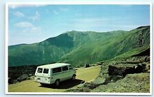 Mt. Washington Auto Road White Mountains New Hampshire NH Boot Spur Postcard B72