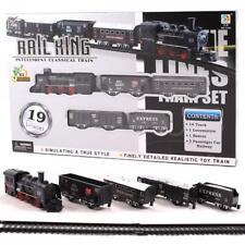 Treno Classico Pista 2M con Suono Luce A Batteria Bambini Set Regalo Giocattolo XMAX