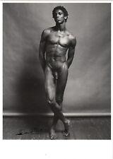 Kunstkarte: Robert Mapplethorpe - Allistair Butler / männlicher Akt / 1980