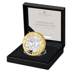 *New* Royal Mint - 2021 H G Wells Silver Proof £2 Coin - Two Pound