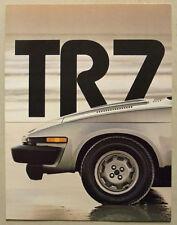 TRIUMPH TR7 CONVERTIBLE USA Car Sales Brochure 1980 #100M 6/80
