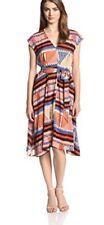 104. NWT Anthropologie Tracy Reese Plenty Easy Dress In Latte Multi S $158