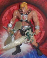 Motu HE-MAN 2002 200x Masters Of The Universe Variant Dirty Blonde Figure