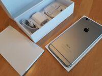 Apple iPhone 6 Plus 128GB Spacegrau ** WIE NEU ** simlockfrei + iCloudfrei !