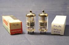Pair PCC189 Adzam - made by Philips (7ES8) ~ 6DJ8 /ECC88 Tested!
