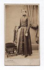 PHOTO ANCIENNE CDV Prêtre Religieux Religion Curé Abbé LEGROS Paris Vers 1870
