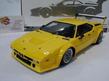 Minichamps 180792998 # BMW M1 ProCar Plain Body Version Baujahr 1979 gelb 1:18