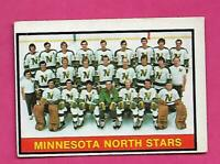 1974-75 OPC # 363 NORTH STARS UNMARKED TEAM CHECKLIST VG CARD (INV# C6821)