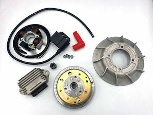 Accensione VMC cono 19mm - ventola alluminio 10 - 1,4Kg - Vespa 50/ 50 Special/
