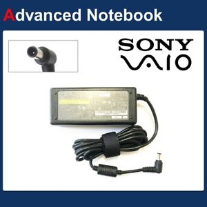 Genuine Power Adapter AC Charger for Sony VAIO VGP-AC16V8 AC16V14 65W Laptop