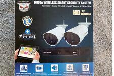 Night Owl 1080p Wireless Smart Security Camera System w/ 1TB, 2 WiFi IP Cameras!