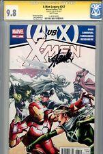 X-Men Legacy 267 CGC 9.8 SS Stan Lee Wolverine AvX Avengers Highest on census