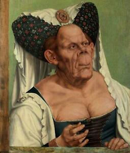 Portfolio, National Gallery Greeting Card Ugly Duchess by Massys