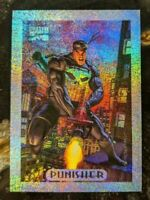 1994 MARVEL MASTERPIECES Limited Ed Silver Holofoil Card 6 of 10 Punisher