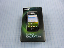 Samsung Galaxy Ace gt-s5830 negro! top estado! sin bloqueo SIM! embalaje original!