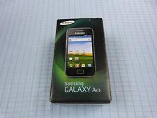 Samsung Galaxy Ace GT-S5830 Schwarz! TOP ZUSTAND! Ohne Simlock! OVP!