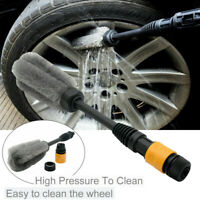 Car Wheel Cleaning Brush Tool Tire Washing Clean Tyre Alloy Soft Bristle A New