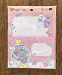 Letter Sheet Envelope Set Retro Fancy  Animals Stationery Japan Pink