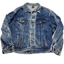 blue denim limited edition rough riders Lee size XL Lee 70s mens vintage Lee denim jacket Lee jean jacket rough riders denim