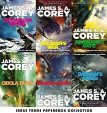James S A Corey EXPANSE Sci-Fi Series LARGE TRADE PAPERBACK Collection Books 1-6