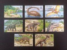 Islas Salomón 2006 Dinosaurios Set SG 1194-1201 estampillada sin montar o nunca montada