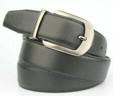 "Reversible Black & Wine Brown Side Belt Fits 34""-38"" Pant size Gunmetal Buckle"