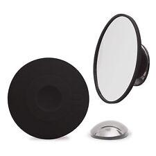 Bosign Abnehmbarer Make-up Spiegel 15-fach Vergrößerung Saugnapf Magnet schwarz
