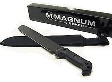 Machete Boker magnum black 02GL716 solingen lama inox colore nero fodero incluso