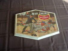 "1950's National Beer Baltimore Baseball Scene Advertising Sign 9"" by 12"""
