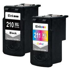 2PK PG-210 XL CL-211 XL Black & Color Ink Set for Canon PIXMA MP499 MX320 MX330