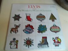 Elvis Sings the Wonderful World of Christmas 1971 RCA Record