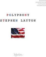 R. Thompson / S. Barber / Stephen Layton - American Polyphony [New CD]