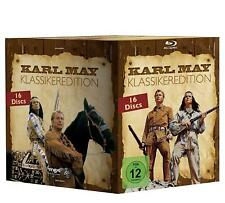Karl May Winnetou Complete Classic Movie Film Collection 16-Disc Box Set Blu-Ray