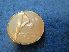 The Franklin Mint United States Olympic Team XX Olympiad Coin 1972 Dive