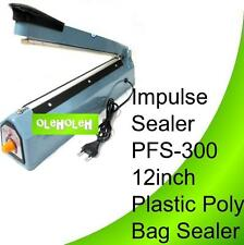 Impulse Sealer PFS-300 12inch Plastic Poly Bag Sealer