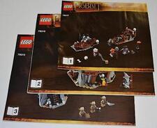 LEGO The Goblin King LOTR Instruction Booklets Set 79010 NEW 3 Books