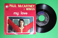 Paul McCartney & Wings - My love / The mess - Apple 3C006-05301