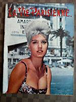 LA VIE PARISIENNE N° 137/1962 URSULA ANDRESS/LES FEMMES VOILEES /T.B.E.