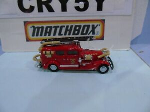 MATCHBOX YESTERYEAR PRE PRODUCTION DECALS CADILLAC FIRE DEPT F D N Y EX EMPLOYEE