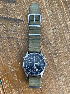 Seiko 7T27-7A20 Gen 2 Chronograph P Mark Quartz Mens Watch