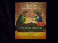 HALLMARK GREAT JOY CHRISTMAS BLESSINGS FROM ME TO YOU RECORDABLE STORYBOOK NEW