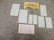 Champ decals O Gauge N-49 Chicago Northwestern road names white    M58