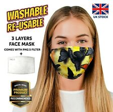 Breathable Fashion Face Mask MouthNose Protection Washable Cotton Blend Reusable