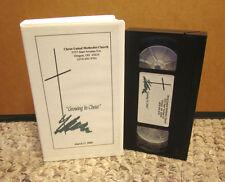 CHRIST UNITED METHODIST CHURCH sermons Oregon OHIO 1999 Growing In Christ VHS