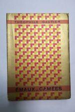 GAUTIER  Émaux et Camées ill- Braun 1929