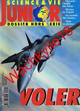 Science et vie junior hs n°20 du 04/1995 Voler Aviation Planeur Oiseaux Angola